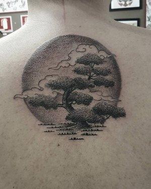 earth tree tattoo