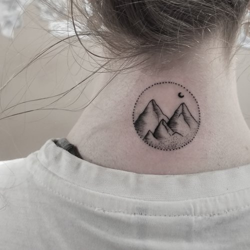 Pentagram tattoo