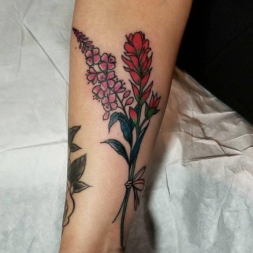 flower kelowna tattoo