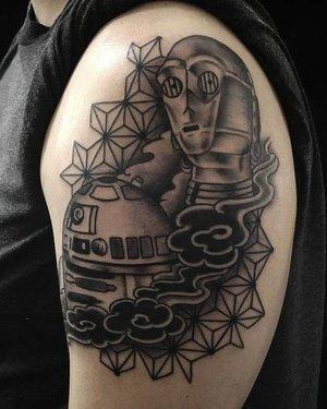 Fudog tattoo