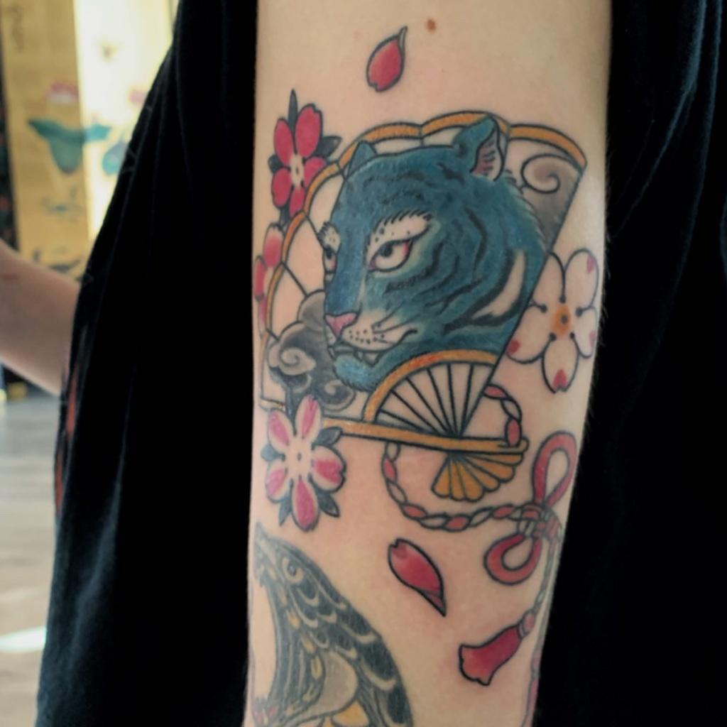 lion+tattoo