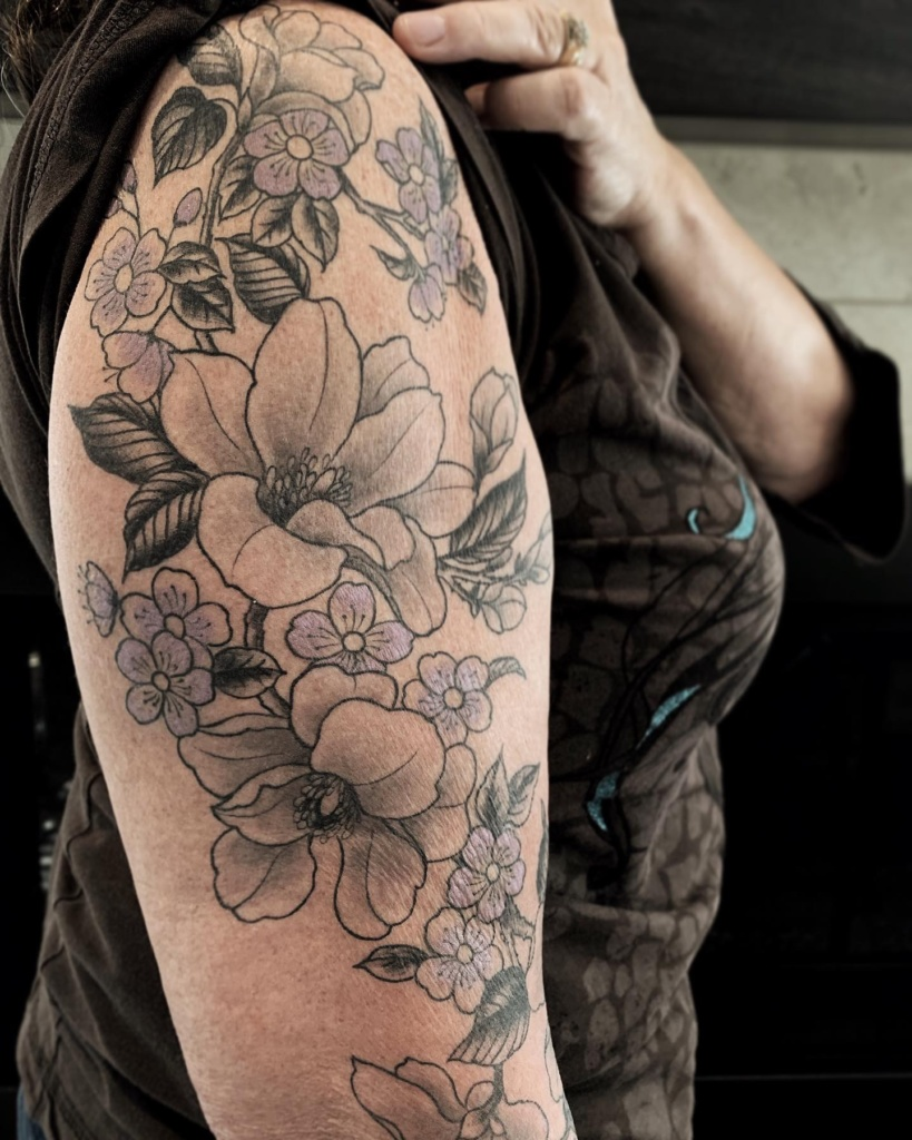 tattoo with Flower